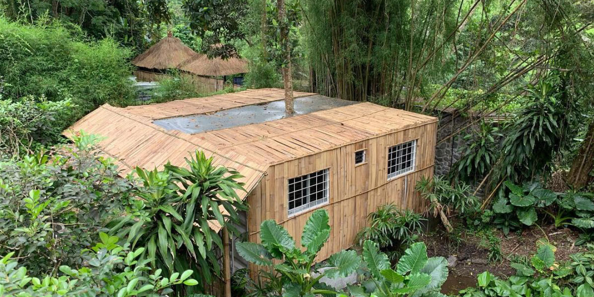 The zerowaste center we build for Alila ubud